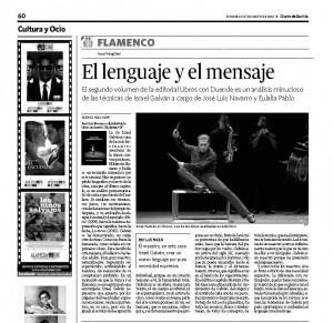 Israel Galván. Diario de Sevilla. Juan Vergillos