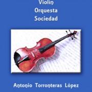 Portada Violin orquesta sociedad tienda